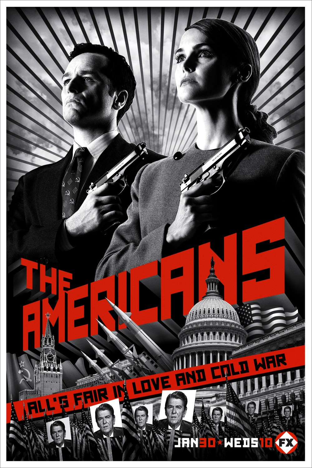The Americans – KGB undercover