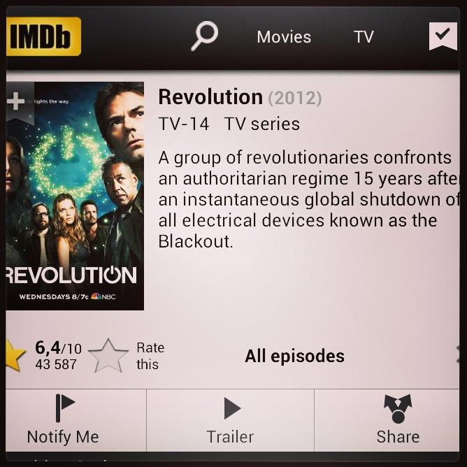 Simone ger utrymme för Revolution