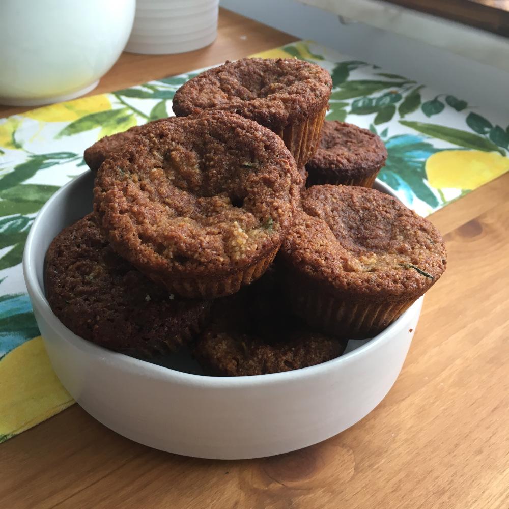 Zucchinibreadmuffins – glädjen i att baka!