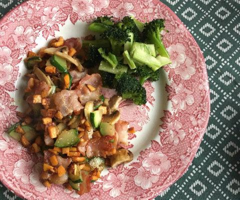 Masserad broccoli – att ha till allt!