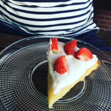 Sommartårta (paleo, nöt- och mandelfri, mjölkfri, glutenfri)