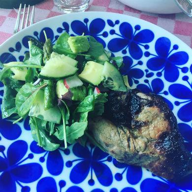 Marinad för grillat kött