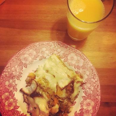 Lasagne med plattor på rotselleri – AIP, paleo, mjölkfri, glutenfri