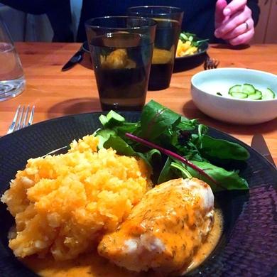 Fisk med sås på dill- och citron – AIP, paleo, mjölkfritt, glutenfritt