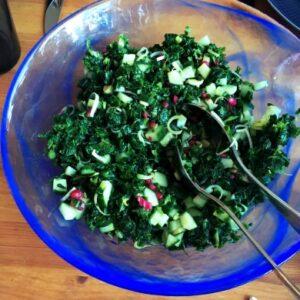 grönkålssallad aip paleo